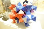 The {3,12} Polyhedron Decorated with a Fractal Circle Pattern - Doug Dunham